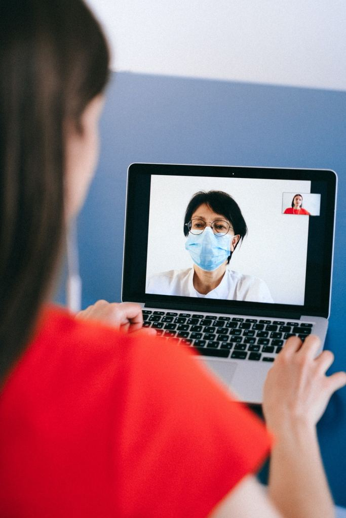 teleconsultation-taking-the-toll-with-increased-technology-1-683x1024 How Teleconsultation is Changing Medicine during the Pandemic   RedZinc Services